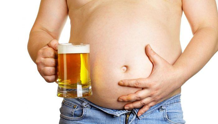 El falso mito de la «Barriga cervecera»