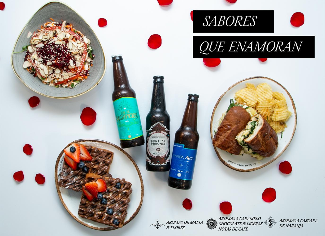 Cervezas para el 14 de febrero