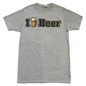 I ♥ Beer (gris)