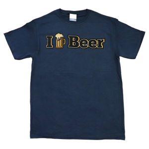 I ♥ Beer (navy)