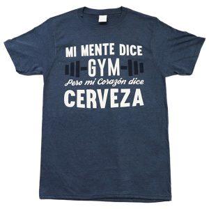 Mi mente dice Gym… (navy)
